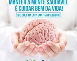 Rio Doce lança campanha de prevenção ao suicídio