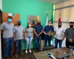 Deputado Estadual Thiago Cota é recebido em Rio Doce
